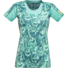 GORE RUNNING WEAR AIR PRINT Shirt Women turquoise